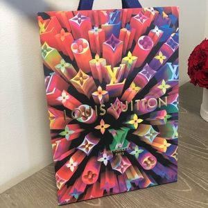Louis Vuitton Ltd Edition Holiday2019 shopping Bag